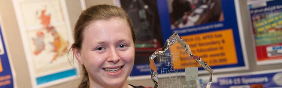 AFES Student funding winner