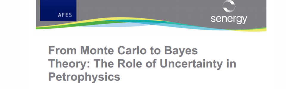 AFES Event – From Bayes to Montecarlo. 26th May 2010