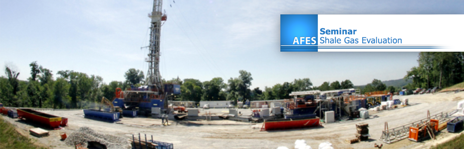AFES Seminar – Shale Gas Evaluation. 4th June 2013
