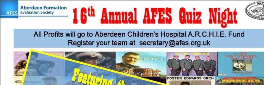 16th Annual AFES Quiz Night