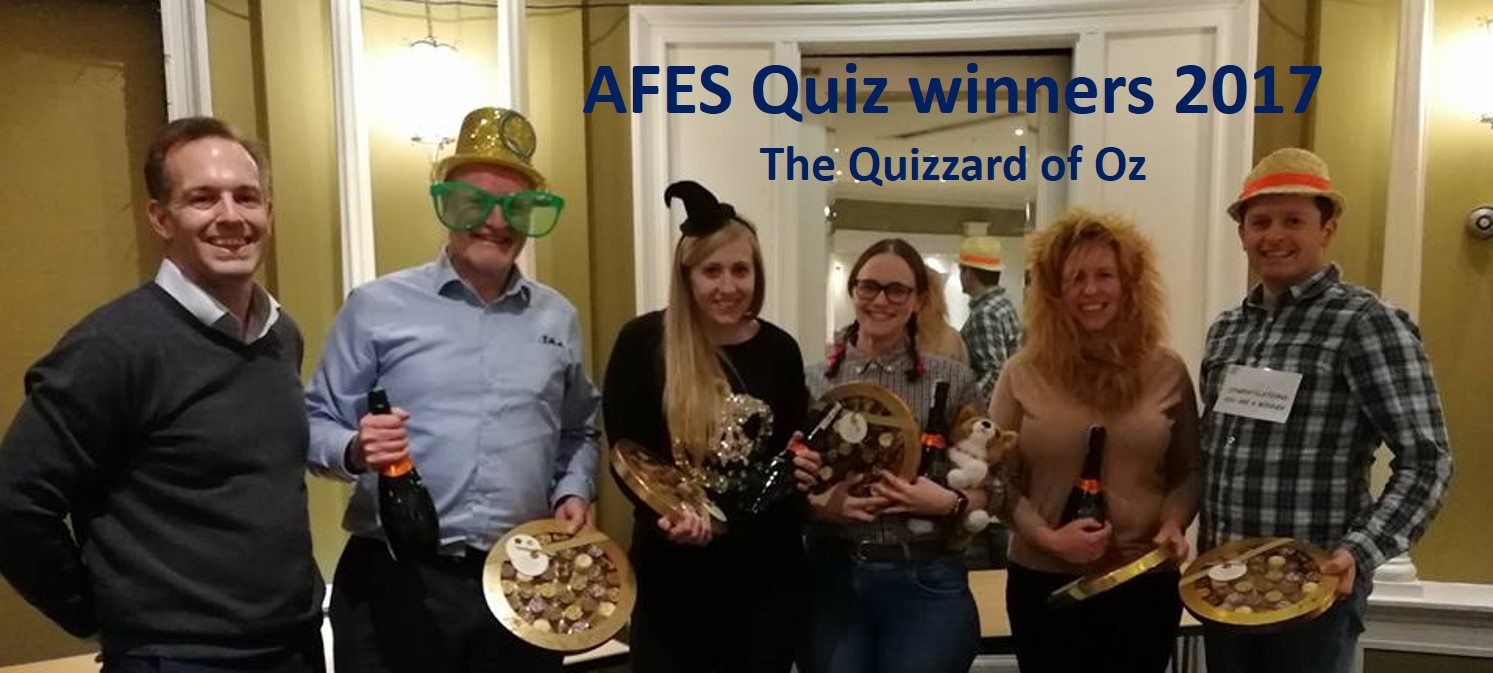16th Annual AFES Quiz Night