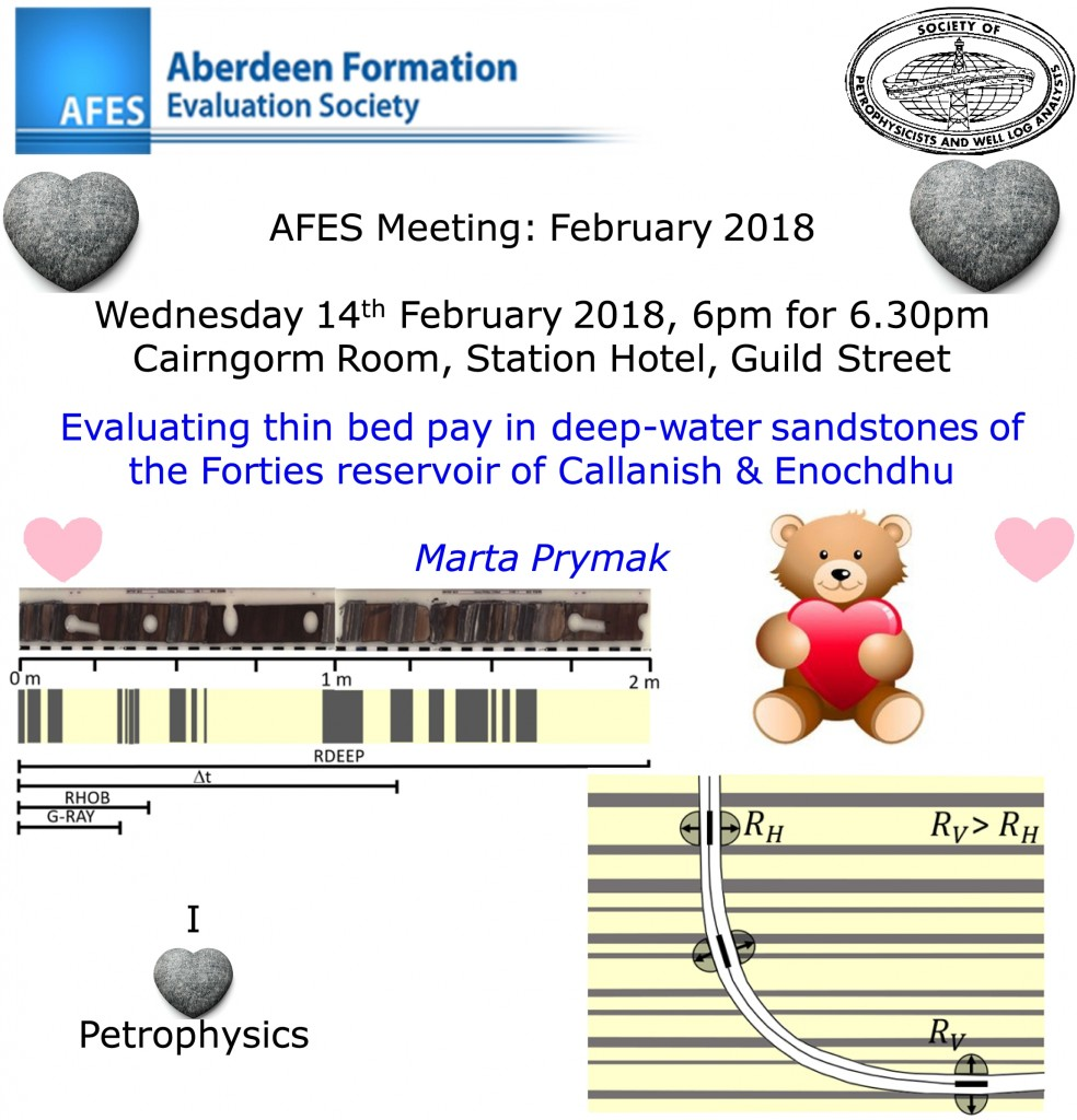 AFES Meeting: Valentine's Wednesday 14th February, 2018