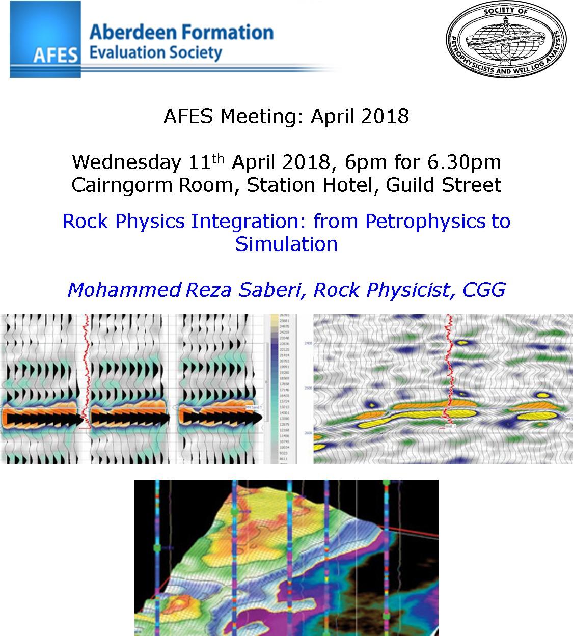AFES Meeting: 11th April, 2018