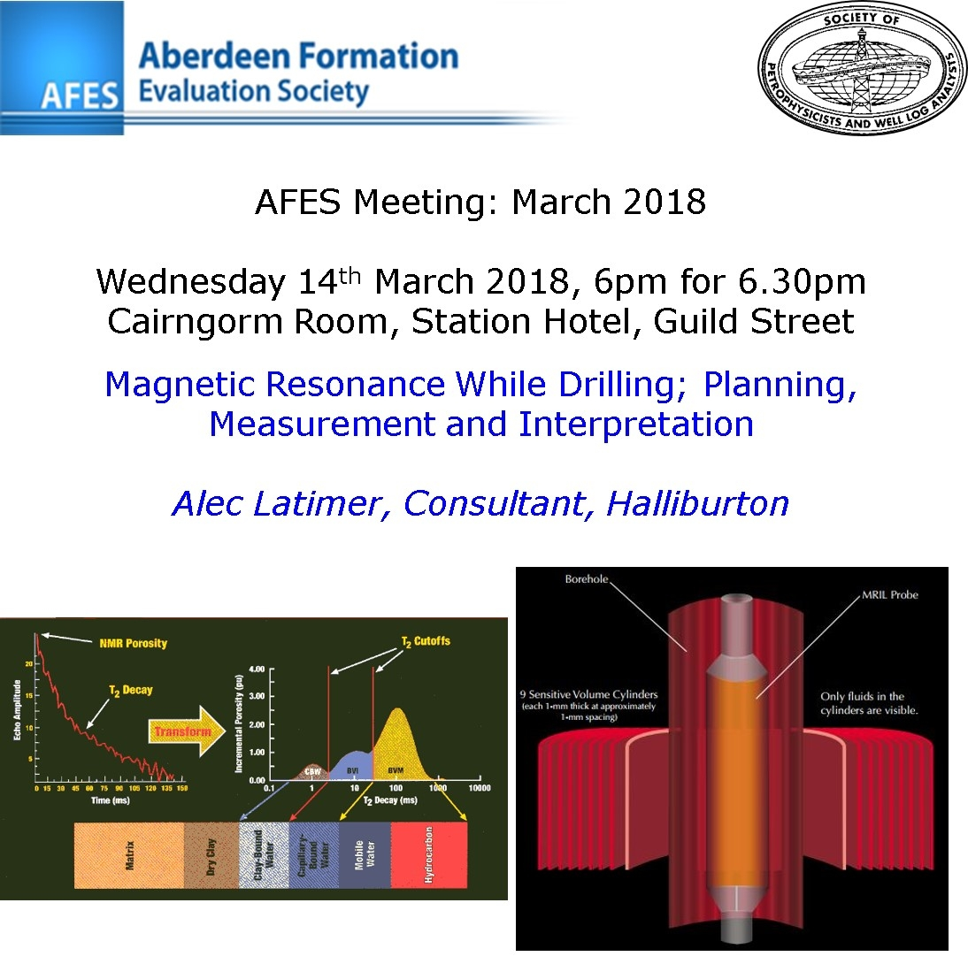AFES Meeting: 14th March, 2018