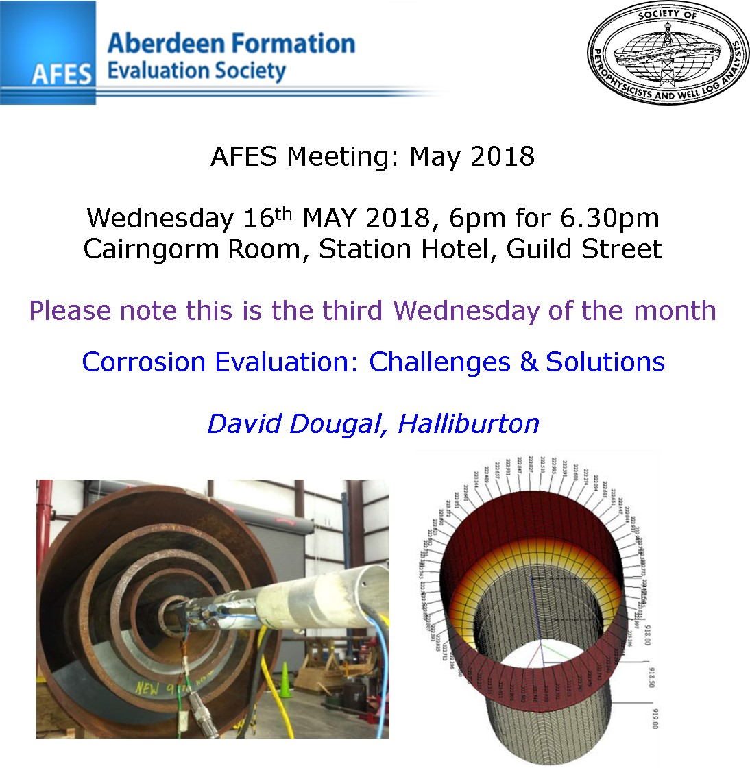 AFES Meeting: 16th May, 2018