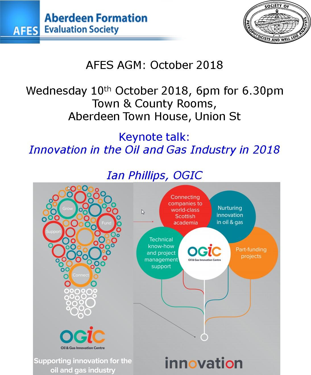 AFES AGM: October 2018