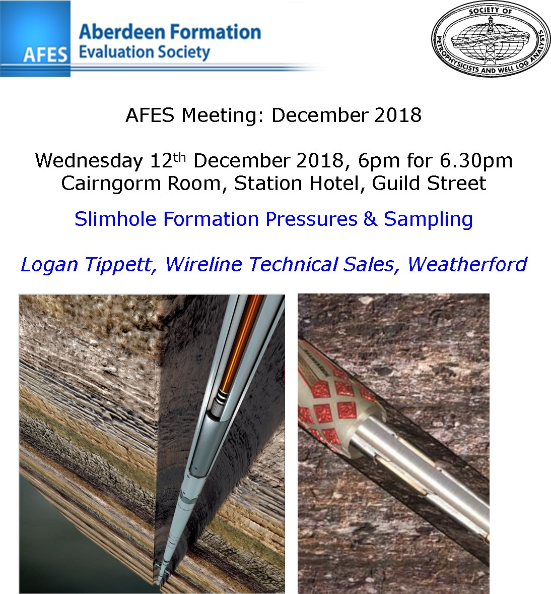 AFES Meeting: 12th December, 2018