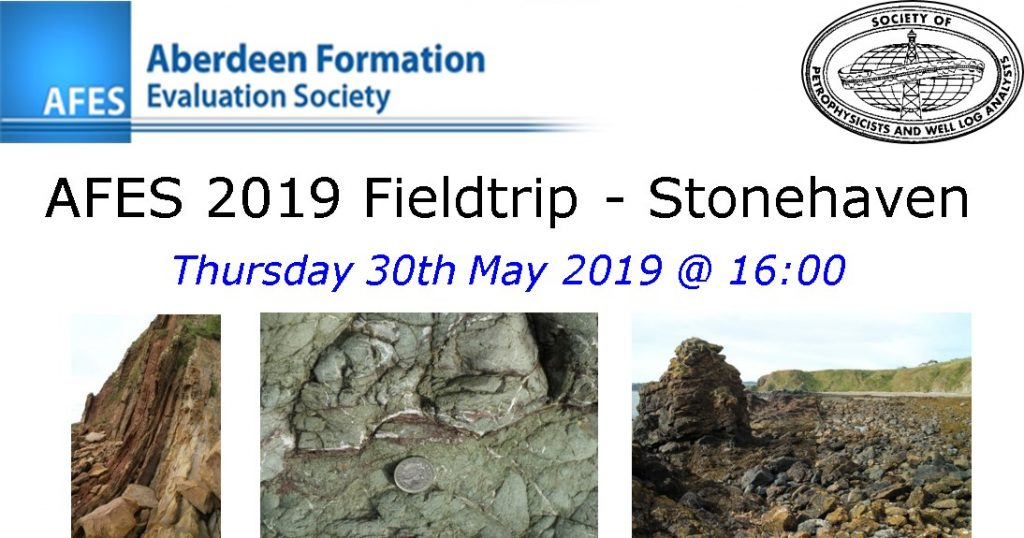 AFES 2019 Fieldtrip – Stonehaven, Thursday 30th May 2019 @ 16:00