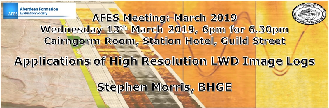 Next AFES Meeting: Wednesday 13th March, 2019