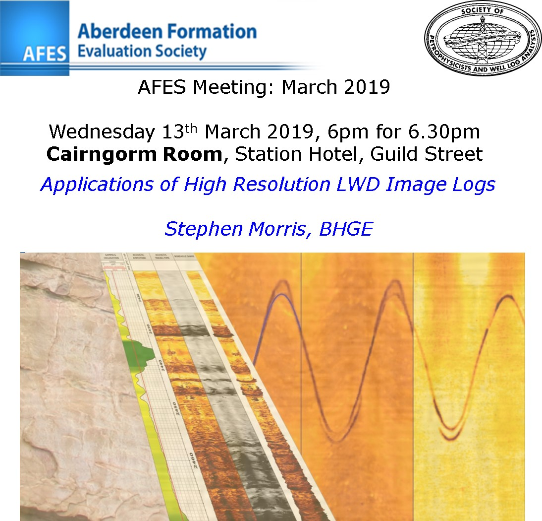 AFES Meeting: 13th March, 2019
