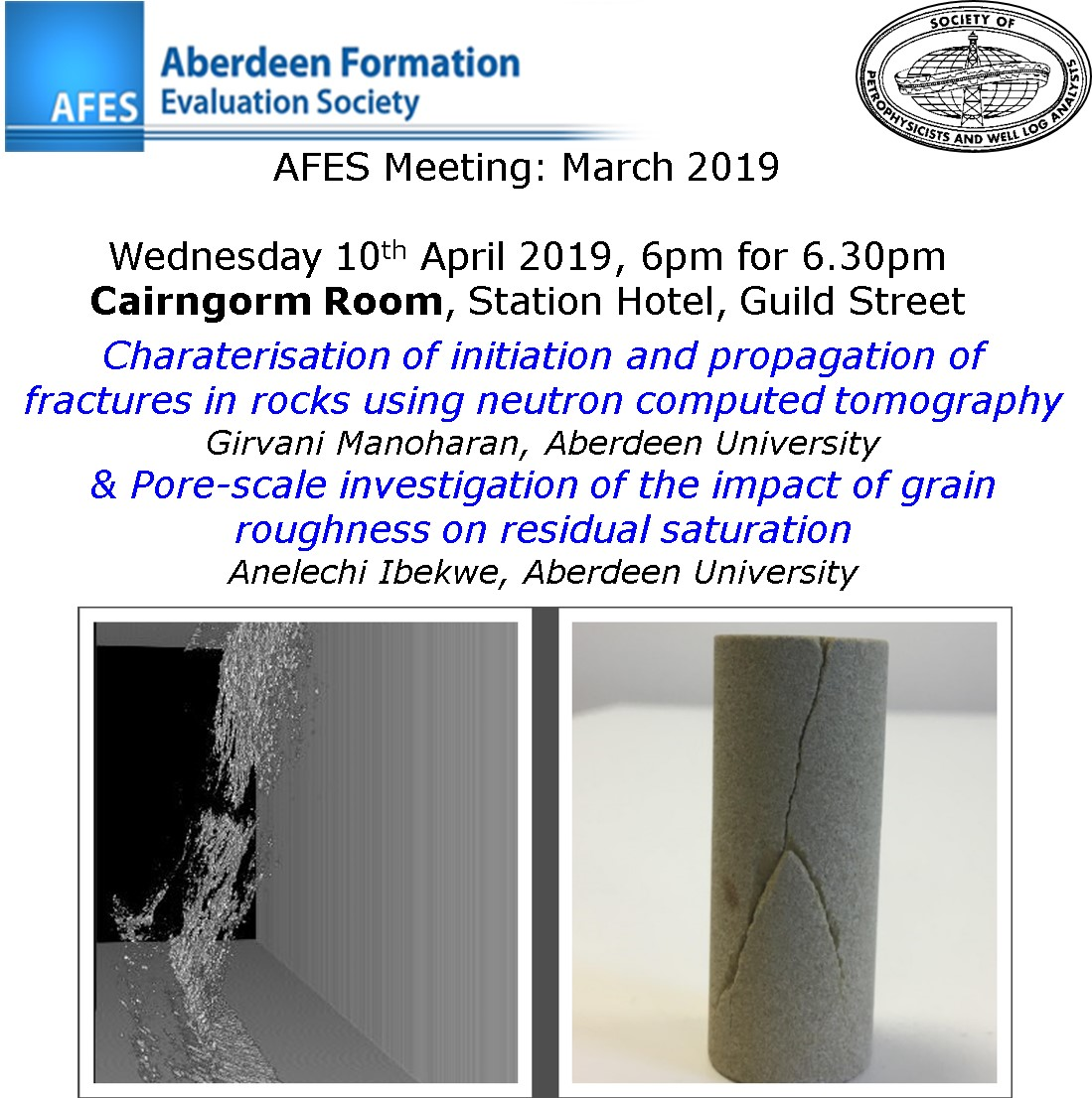 AFES Meeting: 10th April, 2019