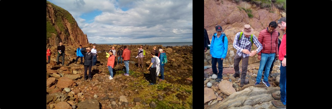 AFES 2019 Field-trip, Stonehaven, Tuesday 2nd July 2019