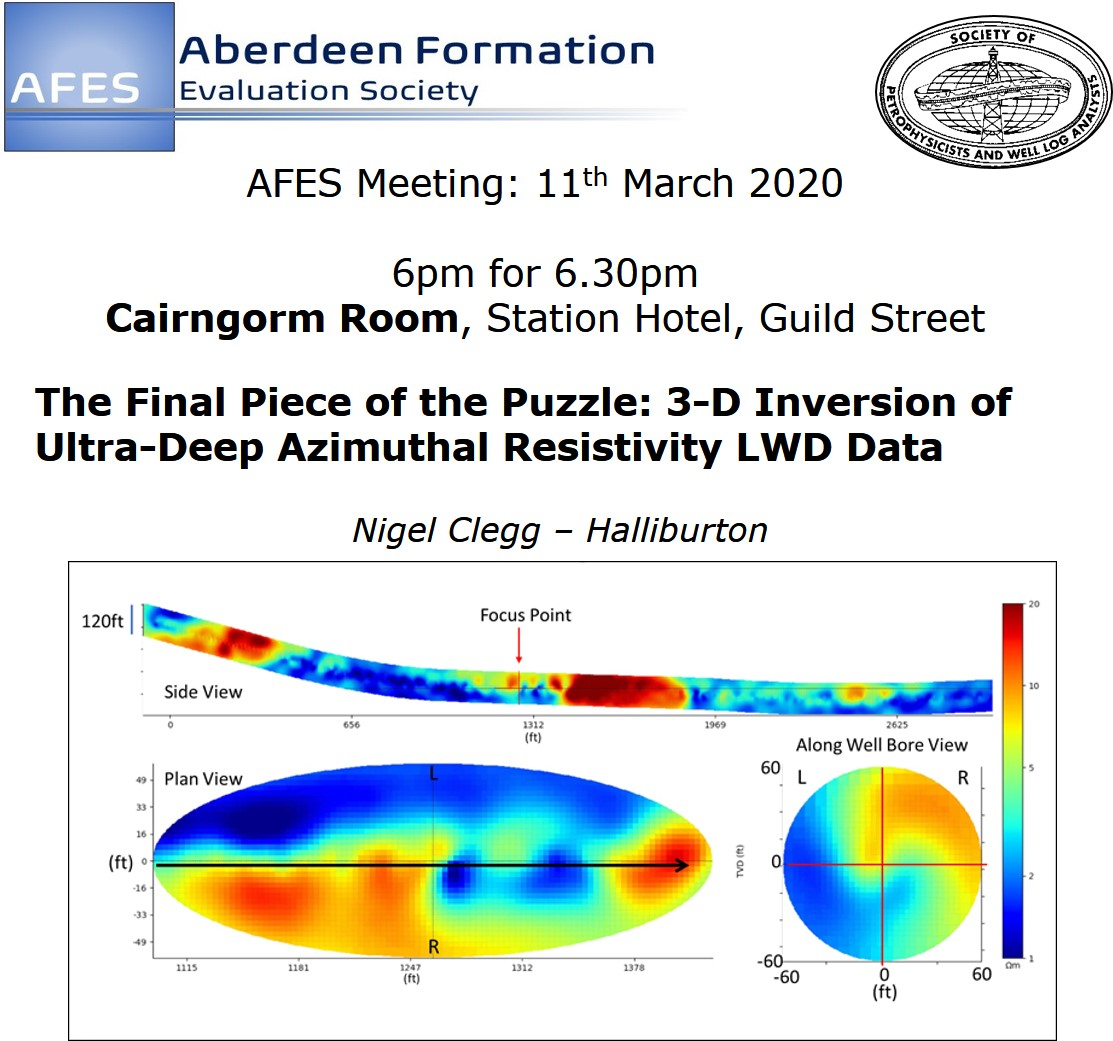 AFES Meeting: 11th March, 2020