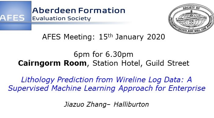 AFES Meeting: 15th January, 2020