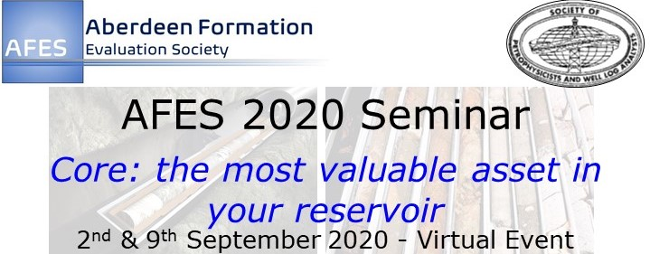 """AFES 2020 Seminar – """"Core: the most valuable asset in your reservoir"""""""